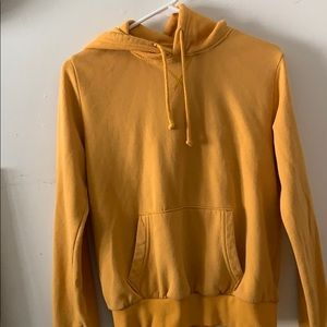 H&M Divided Women's Mustard Yellow Hoodie